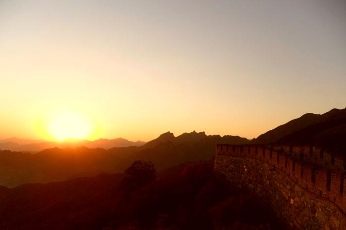 Great Wall Sunset Tour From Jiankou To Mutianyu Hike