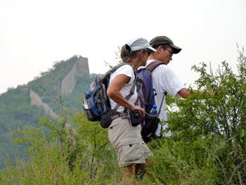 Two Nights Of Great Wall Camping Shixiaguan Badaling