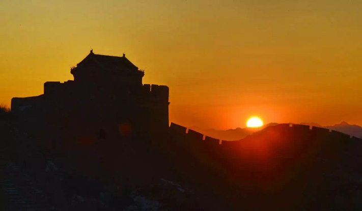 Hiking The Great Wall Of China Sunset Hike At