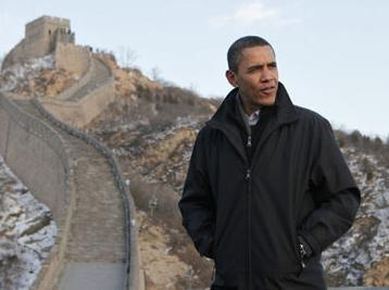 Obama Great Wall Badaling