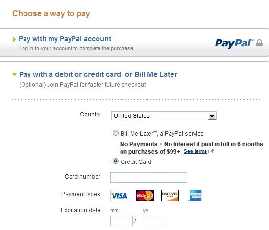 paypal and payment sample, Invoice templates